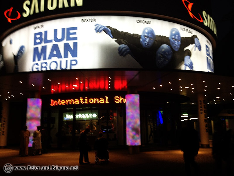Blue man Theater, Берлин