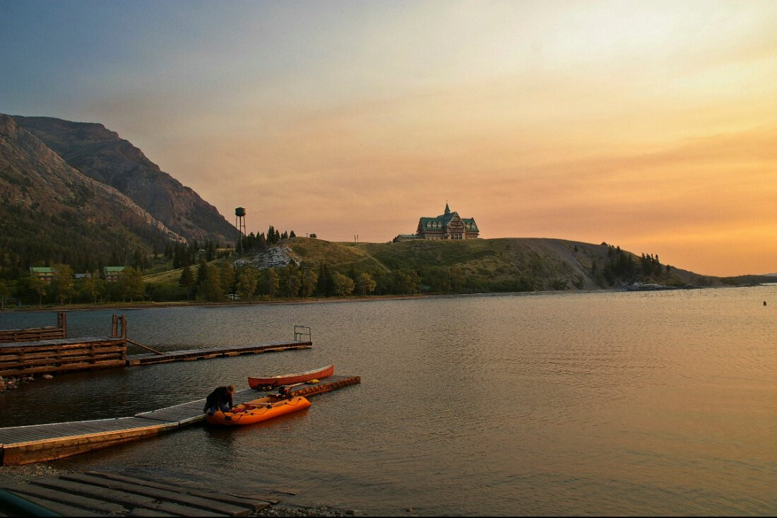 езеро Камерън – Waterton Park, Канада