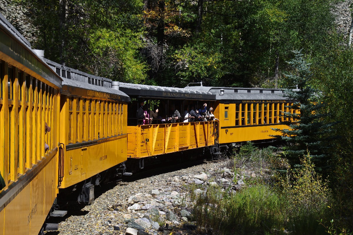 Durango & Silverton Narrow Gauge railroad – Дюранго, Колорадо