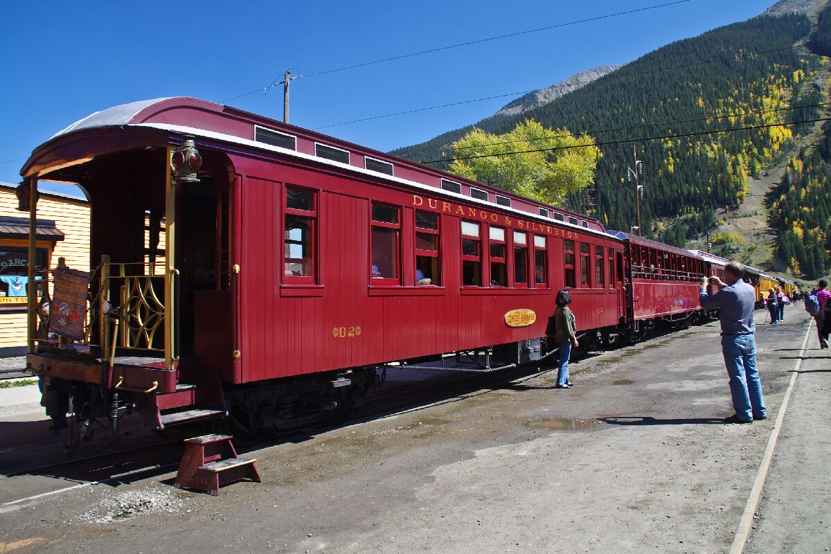 Durango & Silverton Narrow Gauge railroad – Силвертън, Колорадо
