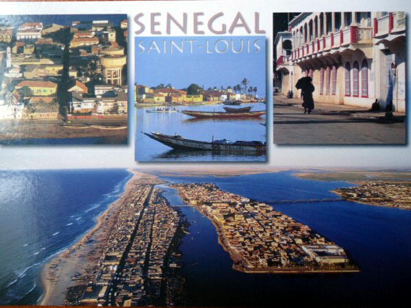 Senegal_carte postale st louis