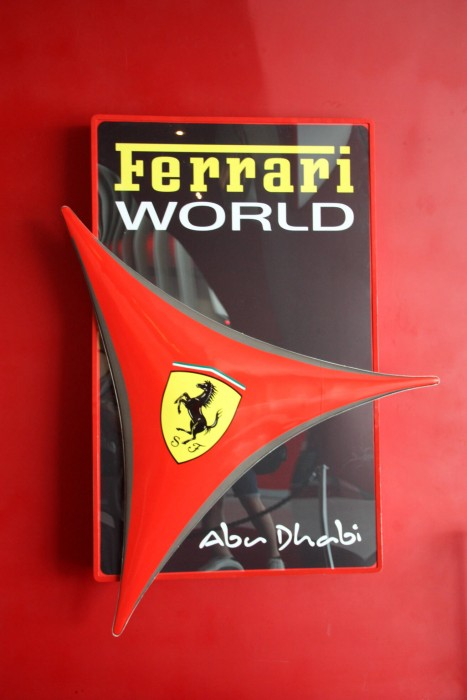 Ferrari world, Абу Даби