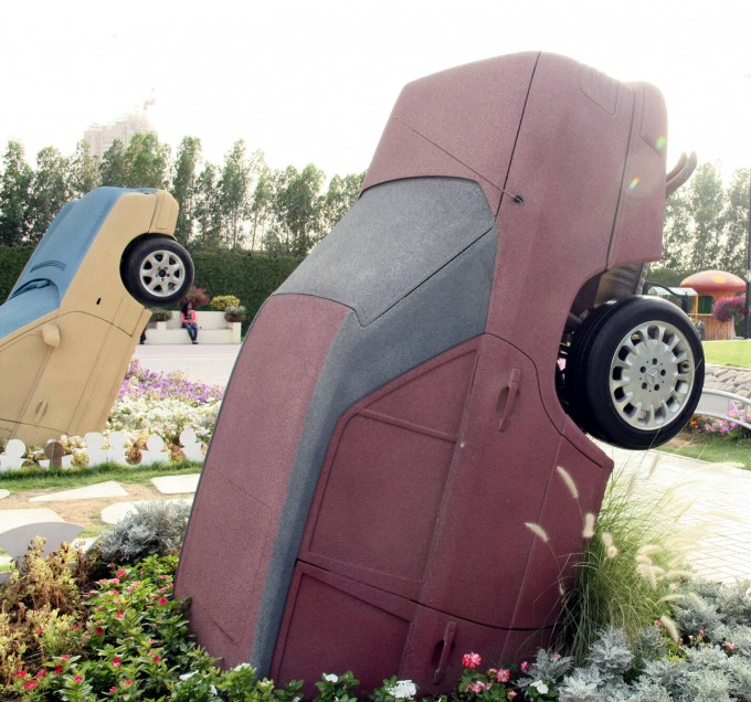 Дубай, Miracle garden