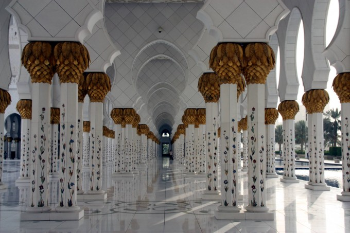 Джамията Sheikh Zayed Grand Mosque, Абу Даби