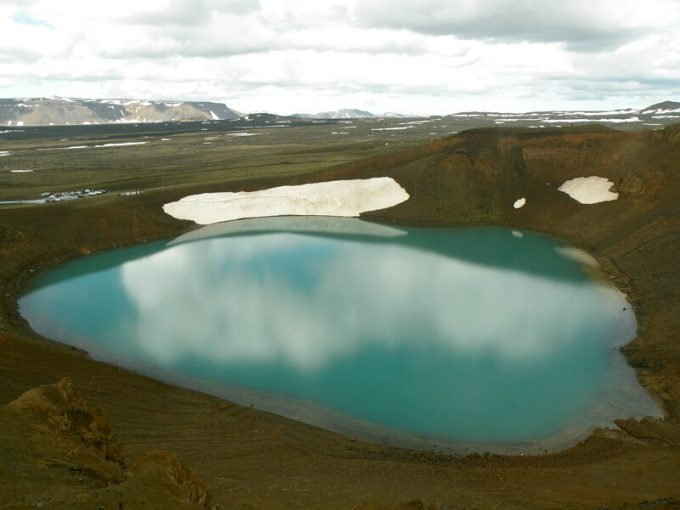 Viti Crater Lake, Исландия