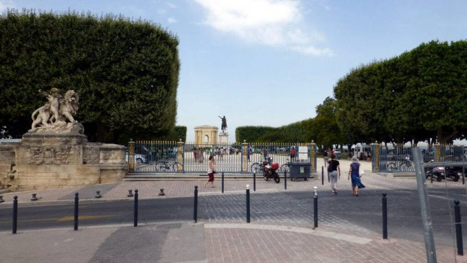 Place royale du Peyrou – Монпелие, Франция