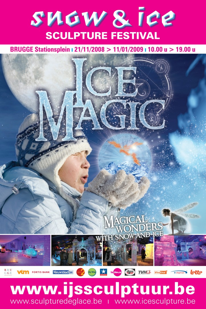 ICE MAGIC – Фестивал на ледените скулптури, Брюж, Белгия